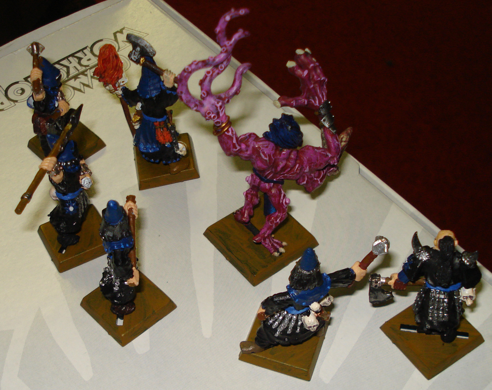 Rear View of Possessed Warband