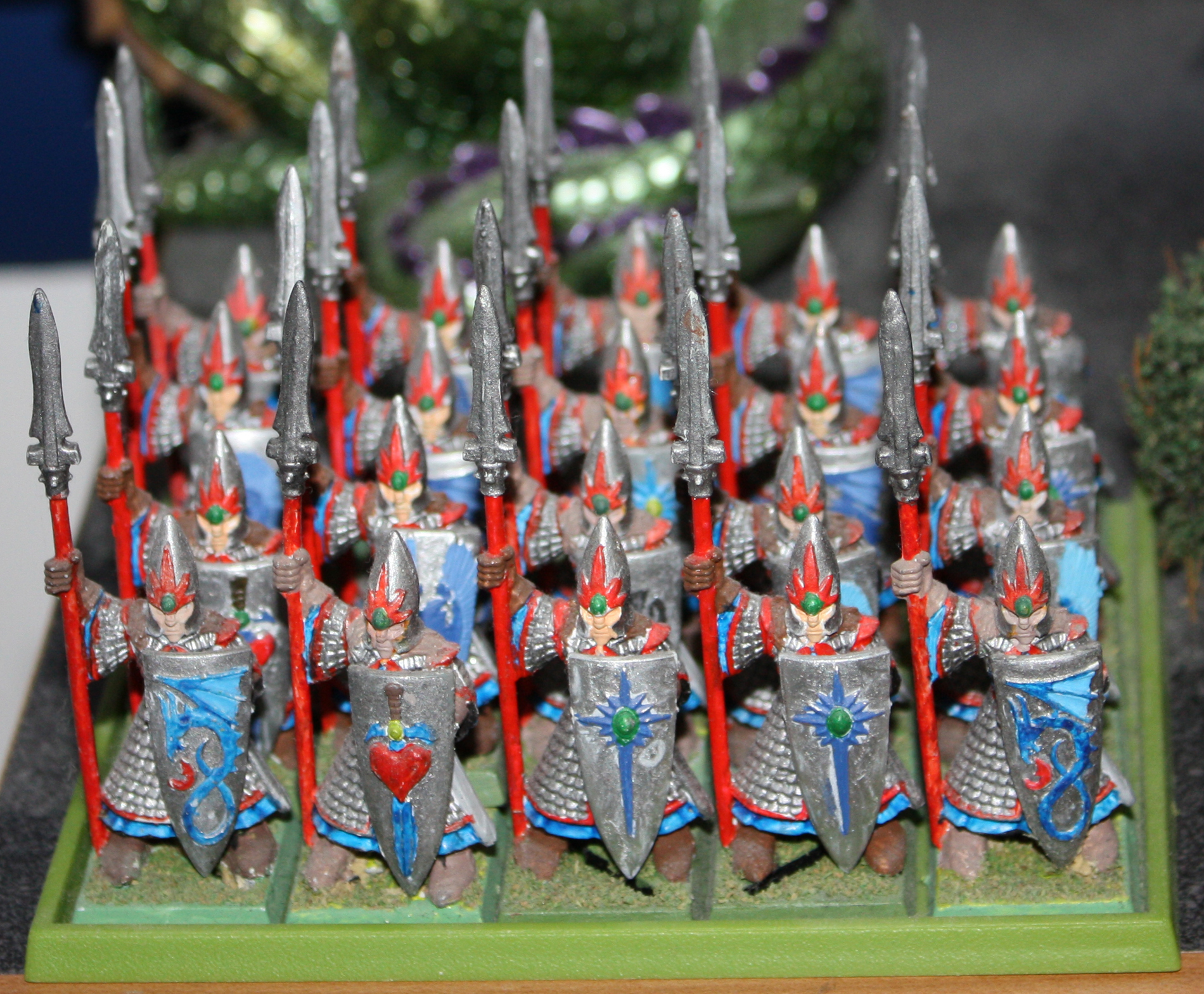 Spearmen Full Rank