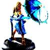 Crazy Blue Belle