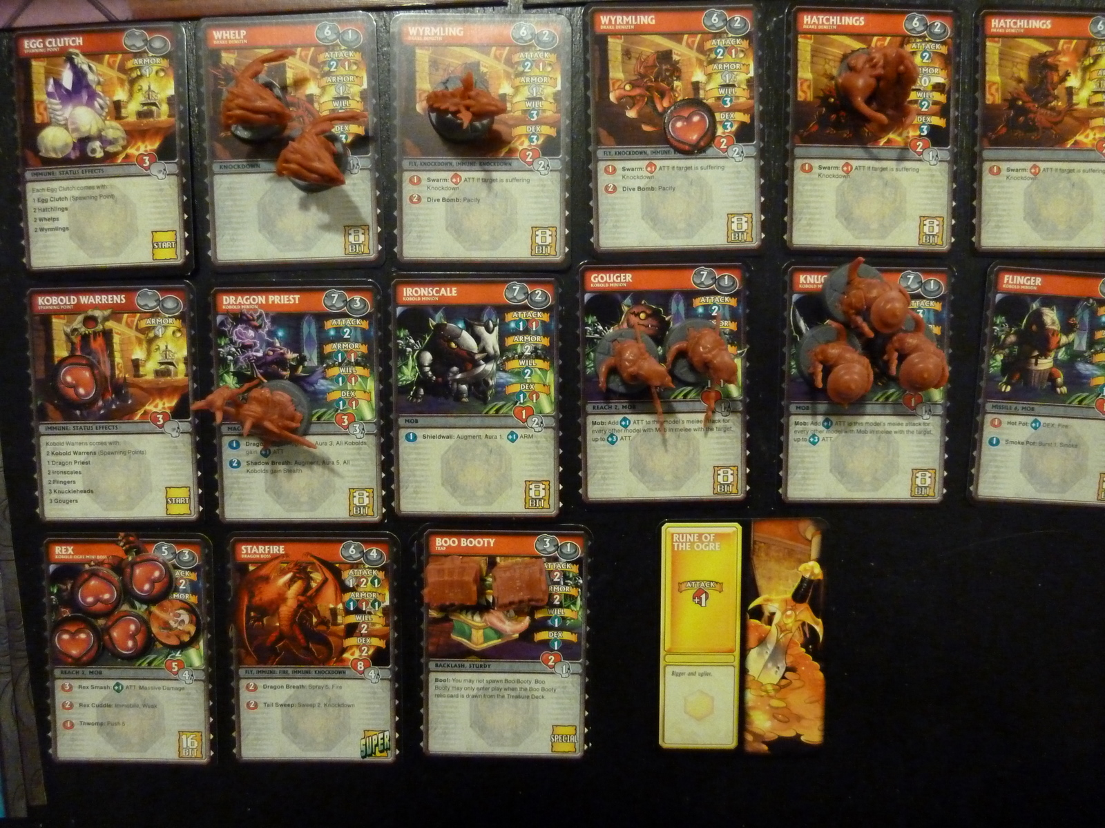 Up Close view of the Consul\'s Cards